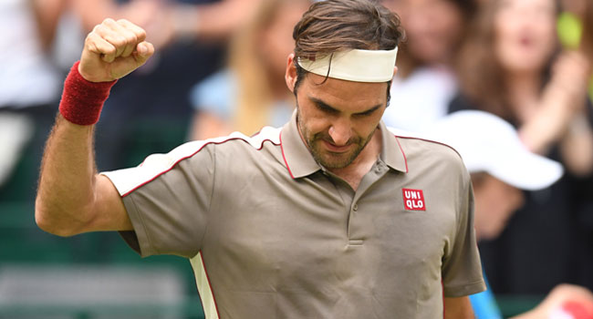 Federer Survives 'Emotional' Tsonga Scare To Reach Last Eight In Halle