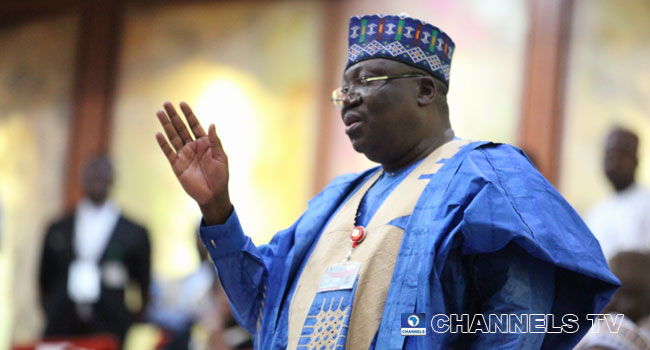 Senate President Lawan Hails Kyari, Boss Mustapha's Re-appointment