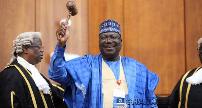 Ahmed Lawan Elected As Senate President – Channels Television
