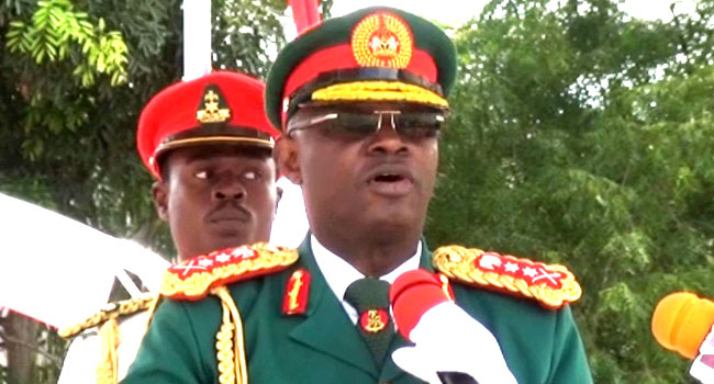 Olonisakin Warns New Army Officers Against Misconduct, Indiscipline