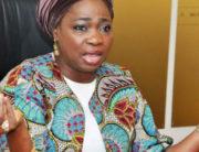 A file photo of Chairman of the Nigerians in Diaspora Commission (NIDCOM), Mrs Abike Dabiri-Erewa.