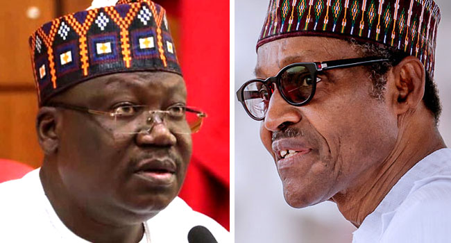 Lawan Arrives State House To See Buhari
