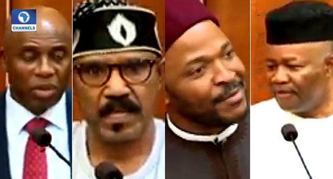 Amaechi, Akpabio, Four Others 'Take A Bow' As Senate Screens Ministerial Nominees
