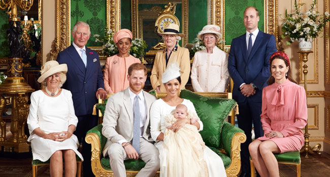 Prince Harry And Meghan's Son Archie Christened In Private Service
