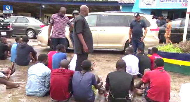Police Parade Suspected Killers Of Personnel, Others In Bayelsa