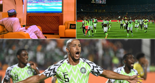 Two More Victories And We Are There, Buhari Tells Super Eagles