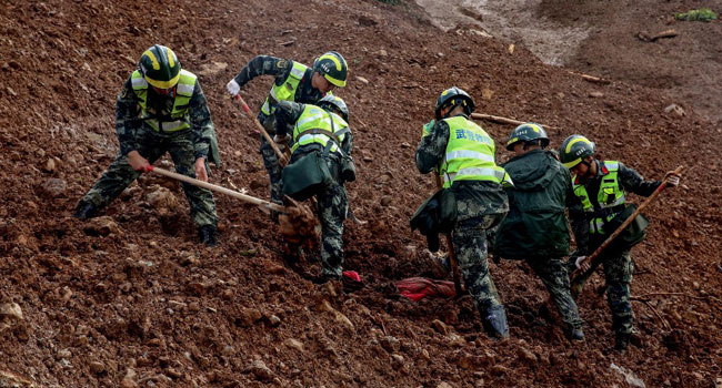 China Landslide Death Toll Rises To 26