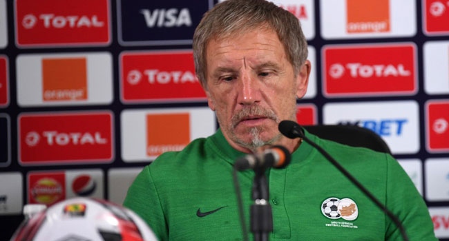 AFCON 2019: Baxter Quits As South Africa Coach After Flop