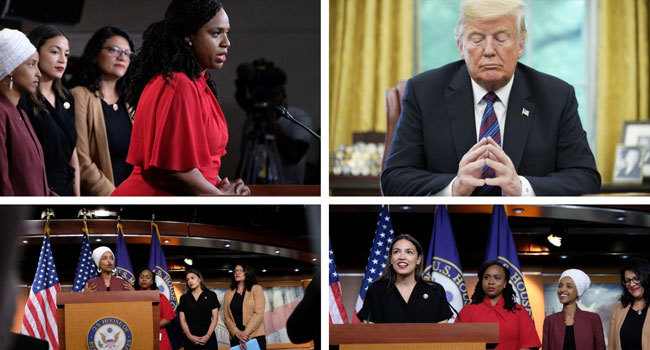 'We Will Not Be Silenced': US Congresswomen Targeted By Trump Politics