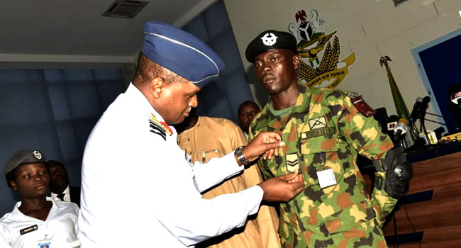 Air Force Promotes Aircraftman Who Returned Lost €37,000 To Owner