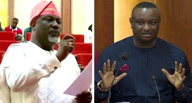 Senate President Objects As Melaye Asks Keyamo To Recite National Anthem