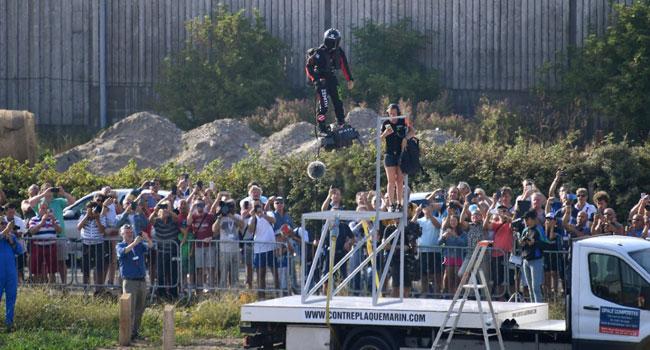 Flying Frenchman Fails In Channel Crossing Bid