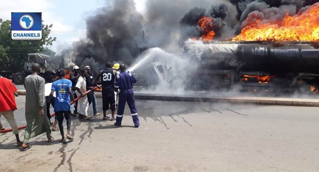 One Dead, Vehicles Burnt In Gombe Diesel Tanker Explosion