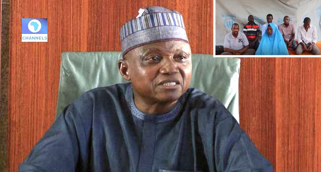 Presidency Reacts To Video Of Aid Workers Pleading For Rescue