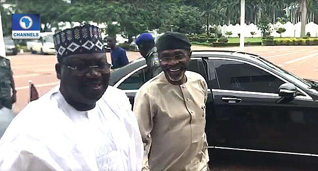 Lawan, Gbajabiamila Meet With Buhari