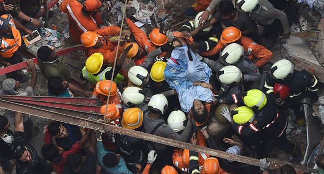 14 Confirmed Dead In Mumbai Building Collapse As Rescue Operation Ends