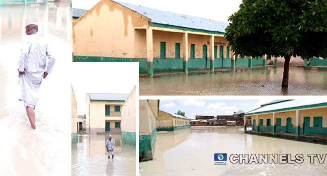 PHOTOS: Flood Forces Six Schools To Close In Jigawa