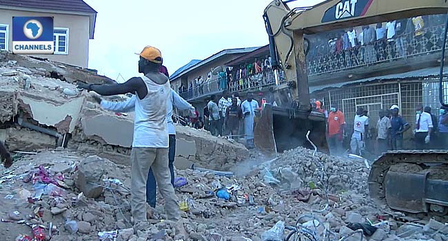 Nine Dead In Jos Building Collapse, Rescue Operations Ongoing