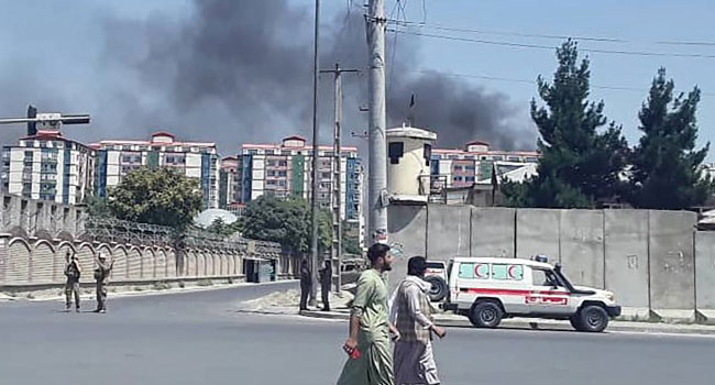 One Person Reported Killed, Dozens Hurt As Powerful Blast Rocks Central Kabul