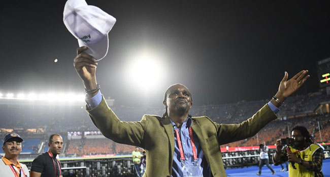 How Kanu Stole The Show After Super Eagles Beat Bafana Bafana