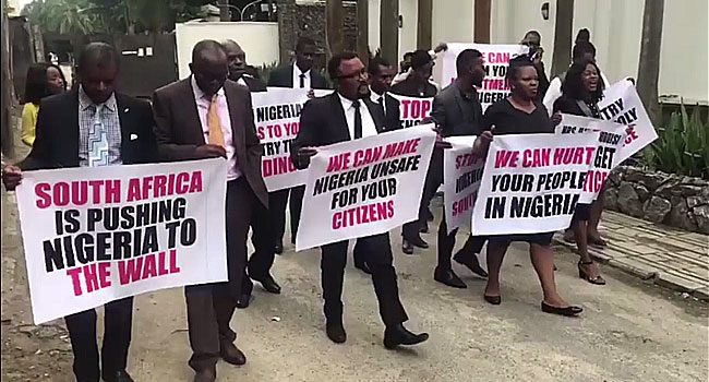 Lawyers Protest Over Killing Of Nigerians In South Africa