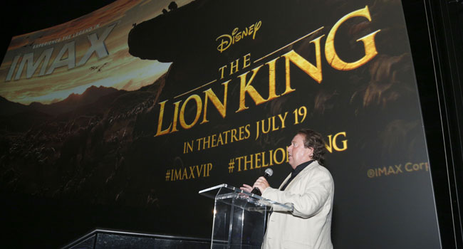 Disney's 'Lion King' Roars As Cameron Salutes New 'Avengers' Record