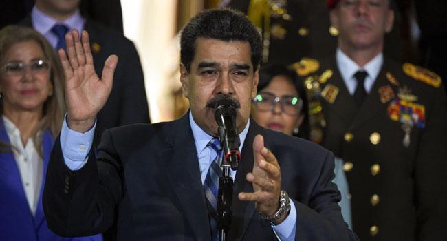 US Offers $15m Reward For Arrest Of Venezuela's President Maduro