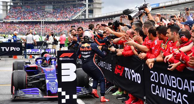 Max Verstappen Wins Chaotic German Grand Prix