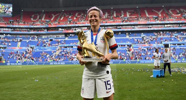 Women's World Cup: Rapinoe Wins Golden Ball And Golden Boot