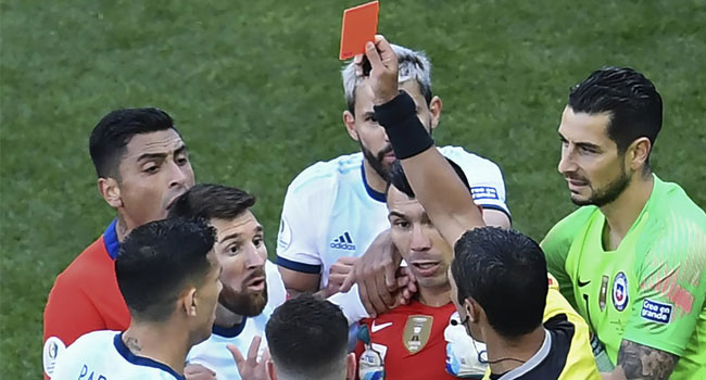 Messi Given One-Match Ban For Copa America Red Card