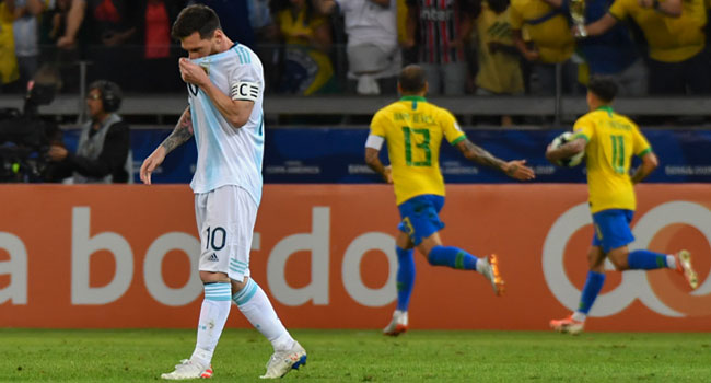 Messi Vows To Play On After Latest Argentina Heartache