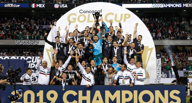 Mexico Defeat USA 1-0 To Win Record Eighth Gold Cup