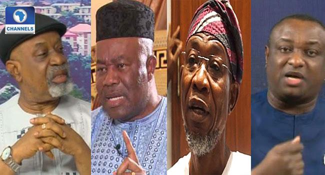 Ngige, Akpabio, Keyamo, Aregbesola, Others Make Buhari's Ministerial List