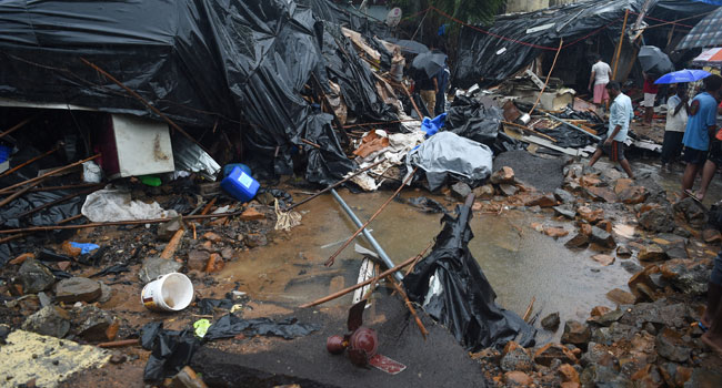 15 Killed As Wall Collapses In Monsoon-Hit Mumbai