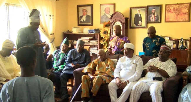 NASS Delegation Visits Fasoranti Over Olakunrin's Killing