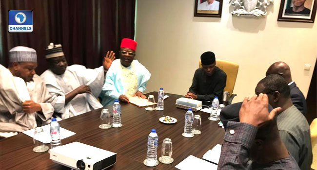Farmer/Herders Clash: Osinbajo Chairs NEC Meeting On National Livestock