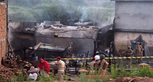 18 Killed As Pakistan Army Plane Crashes Into Residential Area