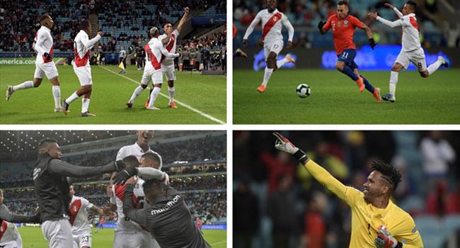 Peru Stun Champions Chile 3-0 To Reach Copa America Final