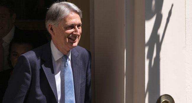 British Finance Minister Hammond Resigns