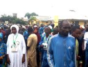 Pilgrims Protest Against Alleged Neglect