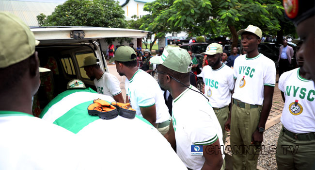 PHOTOS: Body Of Precious Owolabi Being Moved Home For Burial