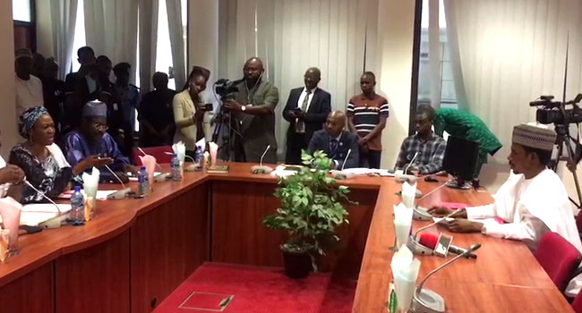 VIDEO: Tinubu, Abbo In Heated Argument Over Sex Toy Shop Assault