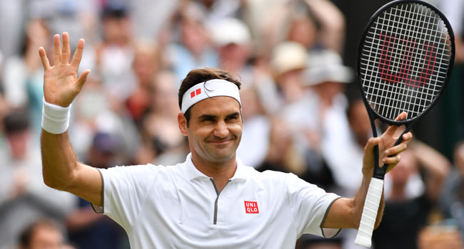 Federer Into 17th Wimbledon Quarter-Final With 99th Win At Tournament