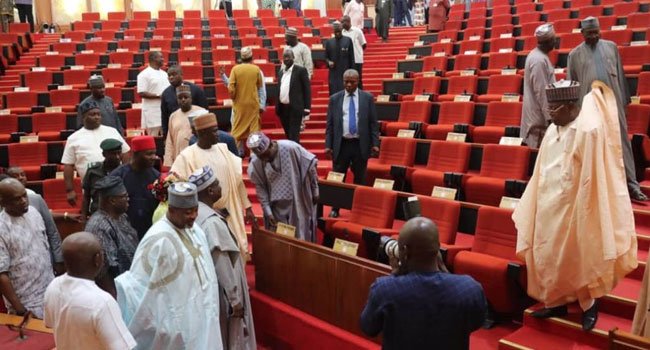 Senate Asks FG To Declare Emergency On Federal Roads