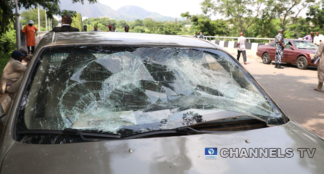 PHOTOS: Shiite Members Storm National Assembly, Clash With Police