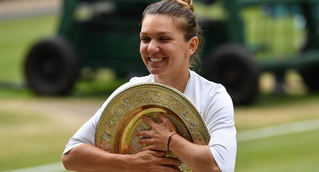 [UPDATED] Halep Shocks Serena To Win Wimbledon Title