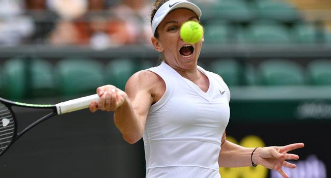 Halep Advances Into Second Wimbledon Semi-Final