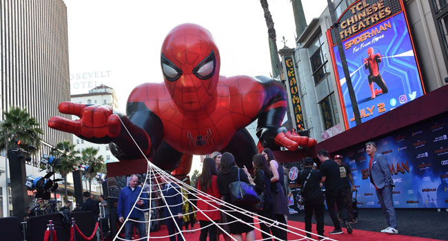 'Spider-Man' Flies Again To Top Box Office
