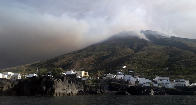 One Killed As Volcano Erupts On Italian Island