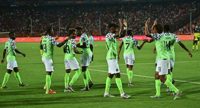 Super Eagles Fly Past Bafana Bafana To AFCON Semis